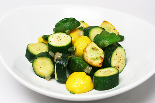 Sauteed Fresh Summer Squash and Extra Fancy Zucchini